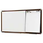 3M Collaboration Board, 65 x 38, Mahogany Frame