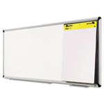 3M Collaboration Board, 96 x 38, Aluminum Frame