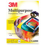 3M CG600050 Recycled Multipurpose Transparency Film
