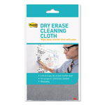 "Post-it® Dry Erase Cleaning Cloth, Fabric, 10 5/8""w x 10 5/8""d"
