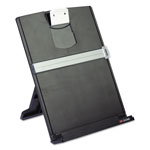 3M Desktop Document Holder, Fold Flat, 150 Sheet Capacity, 9 3/8 x 12, Black