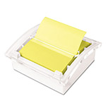 Post-it® Clear Top Pop-up Note Dispenser for 3 x 3 Self-Stick Notes, White
