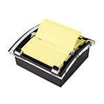 Post-it® Clear Top Pop-up Note Dispenser for 3 x 3 Self-Stick Notes, Black