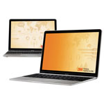 "3M Frameless Gold Notebook Privacy Filter for 12.1"" Widescreen Monitor, 16:10"