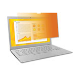 "3M Frameless Gold Notebook Privacy Filter for 14"" Notebook Monitor, 16:9"