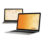 3M Frameless Gold Notebook Privacy Filter for 15.4 Widescreen Monitor, 16:10