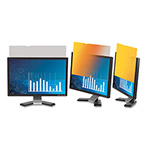 "3M Frameless Gold LCD Privacy Filter for 17"" Monitor"