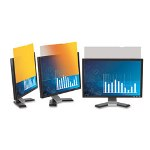 "3M Frameless Gold Notebook Privacy Filter for 17"" Widescreen Notebook Monitor"