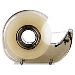 "Scotch H127 Refillable Handheld Tape Dispenser, 1"" Core, Plastic/Metal, Smoke"