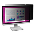 "3M High Clarity Privacy Filters for 24"" Widescreen LCD, 16:9 Aspect Ratio"