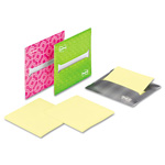 Post-it® Laptop Note Dispenser, 3 x 3, Gray, Pink, Green, 3 per Pack