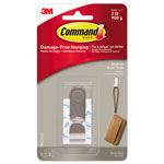 Command® Decorative Hooks, Medium, 1 Hook & 2 Strips/Pack