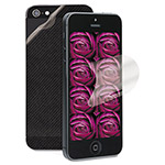 3M Natural View Screen Protection Film for iPhone 5, With Back Skin