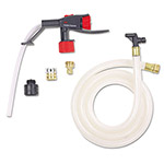 3M Portable Dispensing System, 6 ft. Hose, Clear/Black/Red