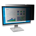 "3M Blackout Frameless Privacy Filter for 23.6"" Widescreen LCD Monitor, 16:9"