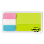 Post-it® Mobile Attach and Go Tabs/Notes Dispenser, 12 1 x 1/2, 24 2 x 1/2, Bright