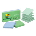"Post-it® Super Sticky™ Pop-Up Notes, 3"" x 3"", Tropical Colors"