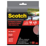 "Scotch Heavy Duty Fasteners, 1"" x 10 ft, Clear"