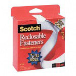 "3M Reclosable Fasteners, Roll, Holds 1Lb Per Inch, 3/4""x5'"