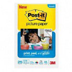 Post-it® Post-it® Post-it® Bulk reg 4 x 6 Picture Paper, Soft Gloss Finish, 25 Sheets/Pack