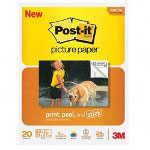 Post-it® Post-it® Post-it® Bulk reg 8 1/2 x 11 Picture Paper, Matte Finish, 20 Sheets/Pack