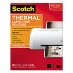 Scotch Letter Size Thermal Laminating Pouches, 5 mil, 11 1/2 x 9, 50/Pack