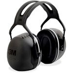 3M Earmuff Headband, Peltor X5, 31dB NRR, Black