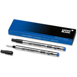 Montblanc Rollerball Pen Refill, Med Point, Blue