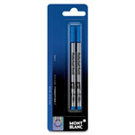 Montblanc Rollerball Pen Refill, Fine Point, Blue