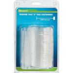 "Monarch Refill, 2"" Tagger Tail Fasteners, 1000/Pack, Clear"