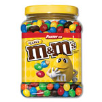 M & M's Milk Chocolate Coated Candy w/Peanut Center, 62 oz Bag