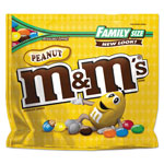 M & M's Milk Chocolate/Candy Coated Peanuts, 19.2 oz Family Size Pack