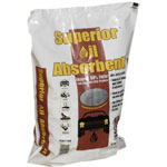 Moltan Oil Absorbent, 40 lbs, Poly Bag, Clay