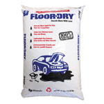Floor-Dry DE Premium Oil Absorbent, Diatomaceous Earth, 25lb Poly Bag