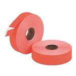 Riverside Paper Easy Load Pricemarker Labels, Two Line, 5/8 x 7/8, Red, 3500/Card