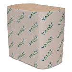 Morcon Paper Dispenser Napkins, Interfolded, 2-Ply, 6 1/2 x 8 1/4, Kraft, 6000/Carton