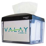 Morcon Paper Valay Nap Interfolded Napkin Dispenser, 6.14 x 8 x 6 1/2, Black, 24/Ctn