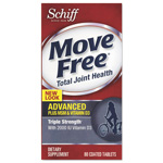 Move Free® Advanced Plus MSM and Vitamin D3 Total Joint Health Tablet, 80 Count