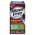 Move Free® Advanced Plus MSM Joint Health Tablet, 120 Count