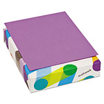 Mohawk/Strathmore Papers BriteHue Multipurpose Colored Paper, 20lb, 8 1/2 x 11, Violet, 500 Sheets/Ream