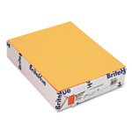 Mohawk/Strathmore Papers Text Paper, Ultra Orange, 8 1/2 x 11, 24 lb., 500/Ream