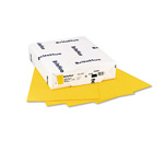 Mohawk/Strathmore Papers Text Paper, Yellow, 8 1/2 x 11, 24 lb., 500 Sheets/Ream