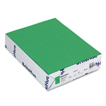 Mohawk/Strathmore Papers Text Paper, Green, 8 1/2 x 11, 24 lb., 500/Ream