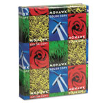 "Mohawk/Strathmore Papers Color Copy Gloss Paper,80 lb Text,94 GE,8-1/2""X11"",500/RM,WE"