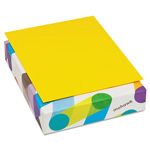 Mohawk/Strathmore Papers BriteHue Multipurpose Colored Paper, 20lb, 8-1/2 x 11, Sun Yellow, 500 Shts/Rm