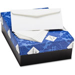 "Mohawk/Strathmore Papers Business Envelopes, Woven, .25 Cot, 4.125"" x 9.5"", 24lb, 500/BX, WE"