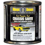 Magnet Paints Chassis Saver Paint, Stops and Prevents Rust, Satin Black, 8 oz Can