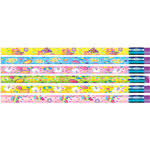 Rose Moon / Mmod Decprated Pencils, Springtime Easter Design, 12/DZ, Ast