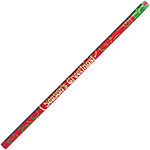 Rose Moon / Mmod Seasons Greetings Themed Pencils, No.2, 12/DZ, Ast