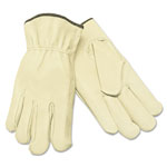 MCR Safety Unlined Driver's Gloves, Small, Straight Thumb, Grain Leather